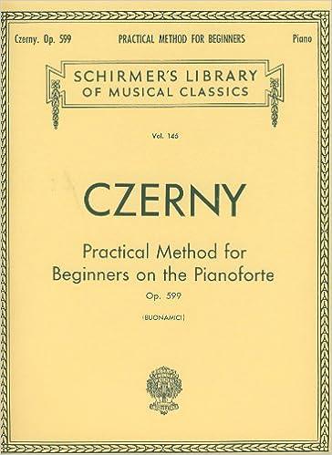 CZERNY - Op  599 Primer Maestro para Piano (Buonamici