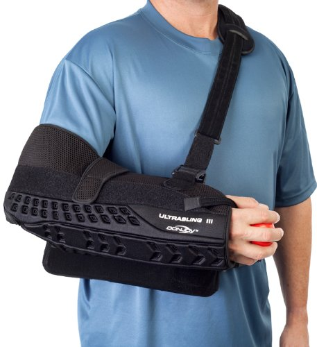 Donjoy 11-0449-2 Ultrasling III Arm, Up to 28 cm Measurements, Small, Black by DonJoy