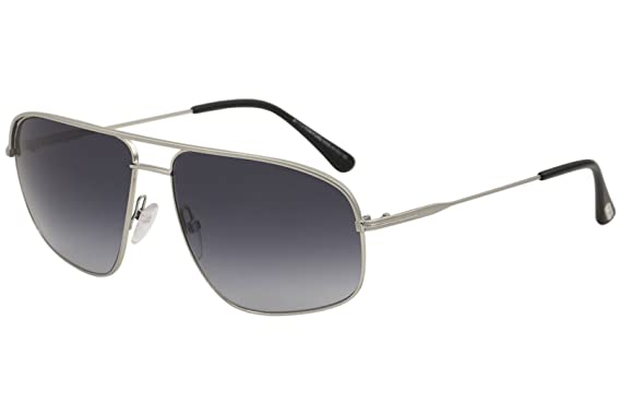 ee118212dd Image Unavailable. Image not available for. Color  Tom Ford Mens Men s  Justin 60Mm Sunglasses ...