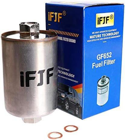 Amazon.com: iFJF GF652 (FF3504DL) Professional Fuel Filter Replacement for  Chevy Tahoe Chevrolet/GMC 1500 K1500 C1500 2500 C0 3500 K3500 C3500,  Silverado, Suburban, Sierra, Express, Avalanche Replaces 33481: Automotive | 99 Gmc Fuel Filter Replacement |  | Amazon.com