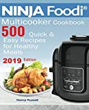 img - for 500 NINJA Foodi  Multicooker Cookbook 500: Quick & Easy Recipes for Healthy Meals book / textbook / text book