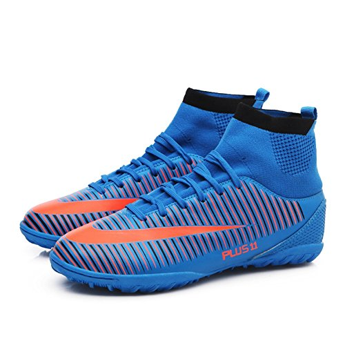 Professional New Top Shoes Boots Boy's Football B Shoes Football High Teenagers Training 2018 Unisex Men Spike FwHCqxH