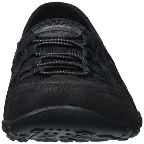 Femme Versed Easy Well Breathe Baskets Skechers Noir Enfiler Black qYARHwtF