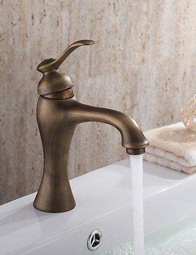 Waschbecken Wasserhahn mit Messing antik Finish antiken Design Wasserhahn