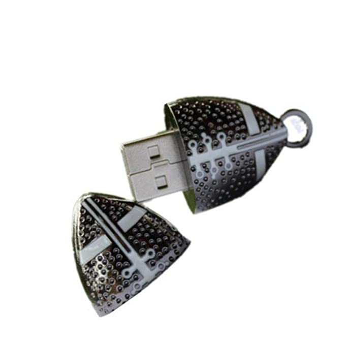 Memorias USB Flash Drive Creativo Metal FúTbol Disco USB 2.0 ...
