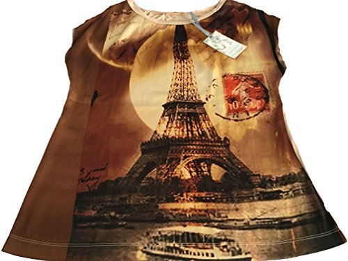 Fantaisie La Fee Italy De Made 100 Femme Maraboutee In Chemisier Polyester qwOrHfXwx