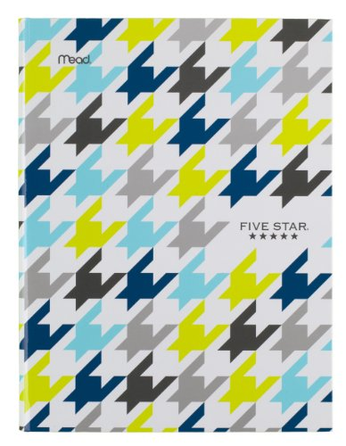 "Five Star Composition Book / Notebook, College Ruled Paper, 100 Sheets, 9-7/8"" x 7-1/2"",Hardbound, Blue (72838)"