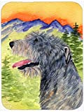 Caroline's Treasures SS8209LCB Irish Wolfhound Glass Cutting Board, Large, Multicolor
