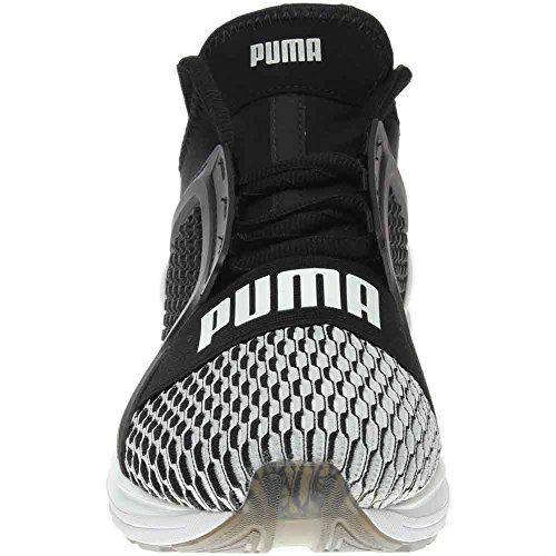 Scarpe da corsa atletiche Puma Ignite Limitless Colorblock Mens Black Mesh 8.5