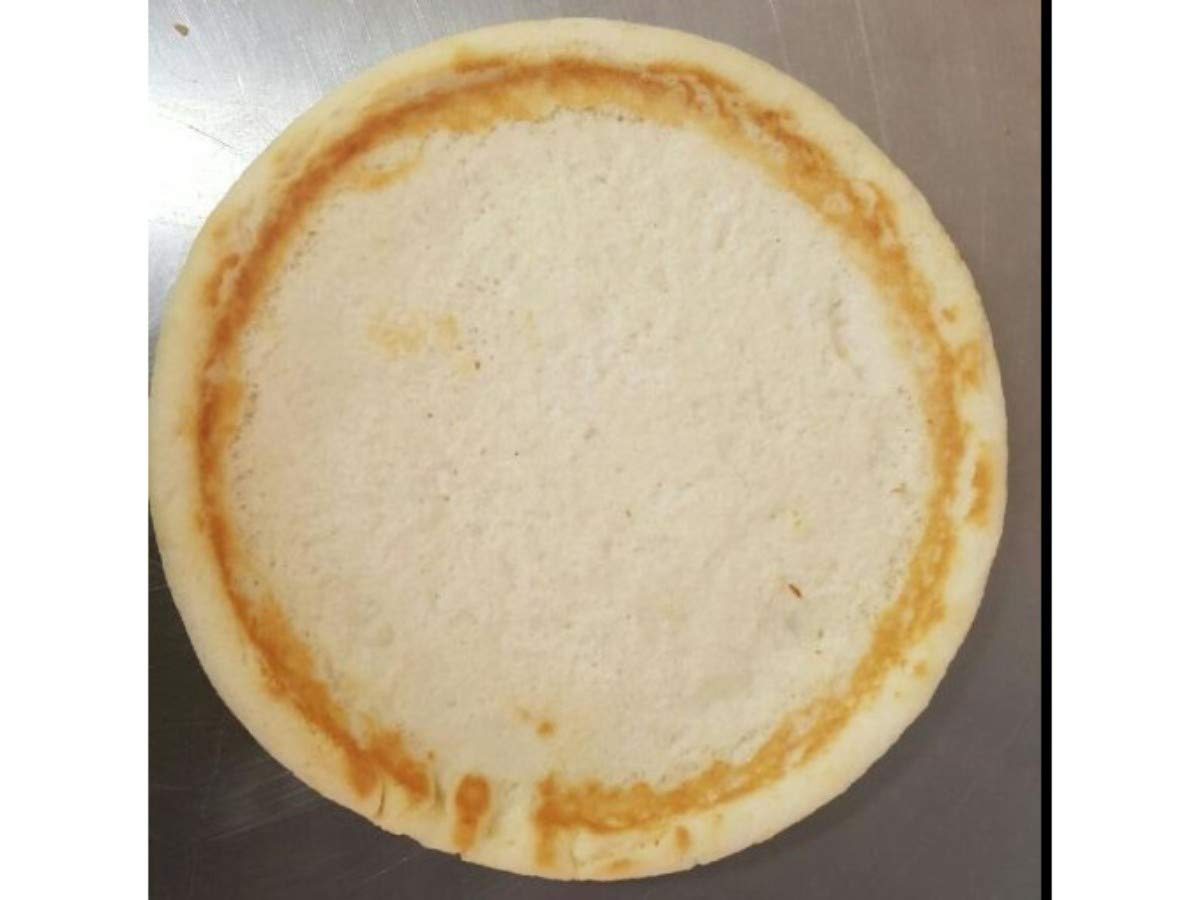 Venice Gluten Free Plain Extra Protein with Raised Edge Pizza Crust, 12 inch -- 12 per case. by VENICE BAKERY