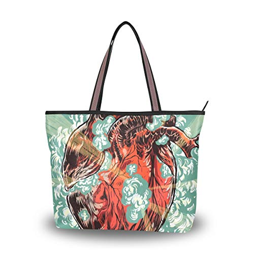 Women's Tote Bag With...