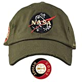 FIELD GRADE NASA Hat Special Edition Patch (Olive Gold Distressed)