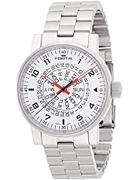 FORTIS watch space Matic White Red 623.10.52M Men's [regular imported goods]