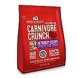 Stella & Chewy's Freeze-Dried Raw Carnivore Crunch Cage-Free Turkey Recipe Grain-Free Dog Treats, 3.25 oz. Bag