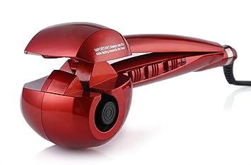 rulos de cerámica automáticos no hacer daño a la herramienta rápida rizos de cabello- Rizador de pelo (con instrucciones en inglés): Amazon.es: Salud y ...