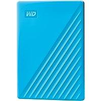 Western Digital My Passport USB3.0 External Hard Drive, WDBYVG0020BBL-WESN,Blue, 2TB