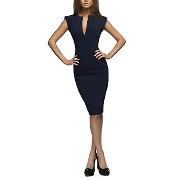 Vestido ajustado estilo vintage para mujer, estilo Saihui, cuello en V, algodón,