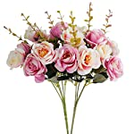 Kiss-Garden-Artificial-Silk-Flowers-Rose-Pack-of-2-Home-Wedding-Bouquet-Dcor-Fake-Flowers-for-Office-Table-Room-Decoration-Party-Centerpieces-Baby-Shower-DIY