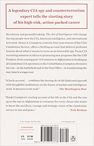 The Art of Intelligence: Lessons from a Life in the CIA's ...