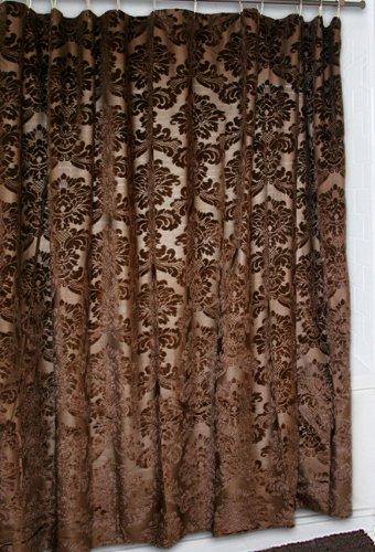 Gold Rush Western Shower Curtain