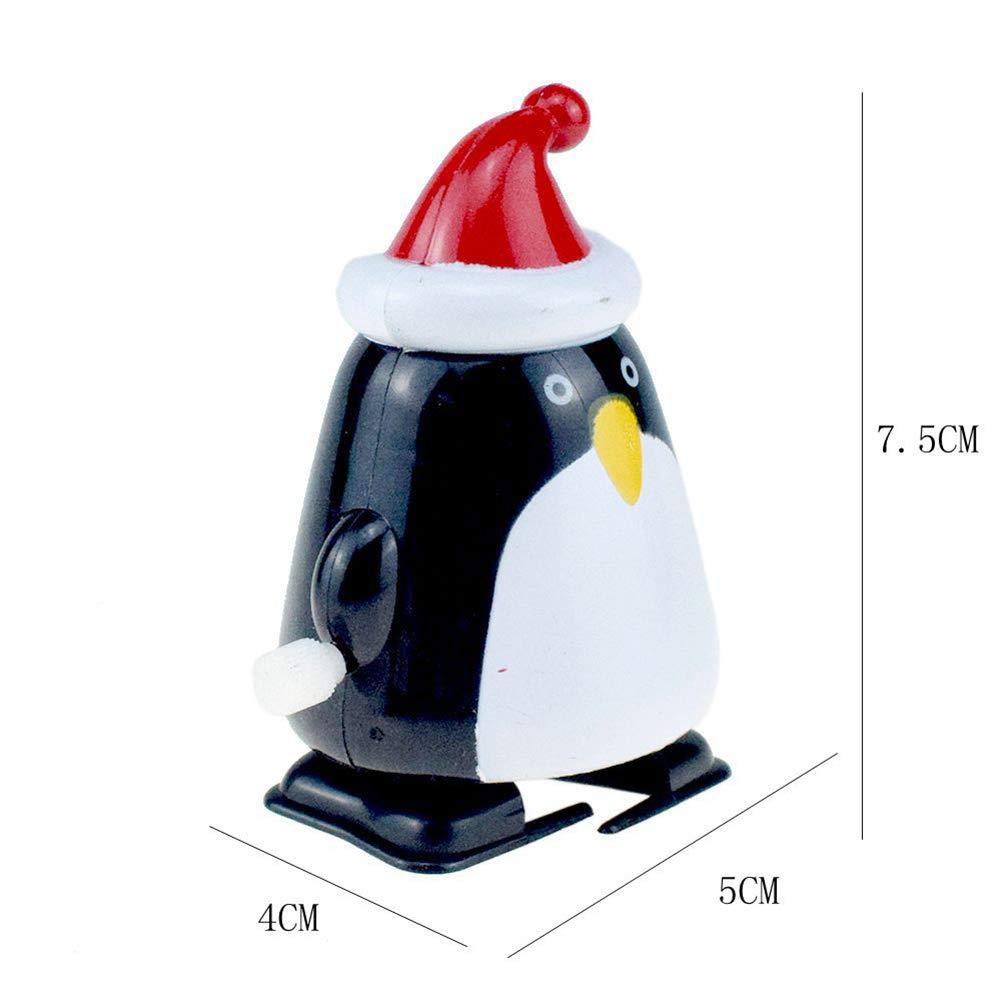Yissma 8 St/ücke Aufziehfigur Rentier /& Weihnachtsmann Weihnachten Wichtelgeschenk f/ür Jungen M/ädchen Kinder und Kleinkinder