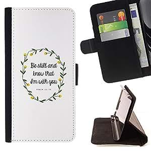 For Samsung Galaxy S6 Active G890A Case , Primavera cita del amor Pascua Dios cristiano- la tarjeta de Crédito Slots PU Funda de cuero Monedero caso cubierta de piel