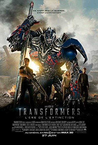 Extinction Movie Poster (Tranformers: Age of Extinction (Canadian) 11x17 Movie Poster (2014))