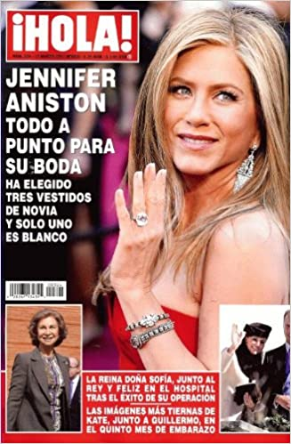 2013 Marzo 13 - Jennifer Aniston: Cover + 5 Paginas: Amazon.com: Books