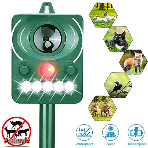 The Best Solar Powered Animal Repeller Of 2019 Top 10
