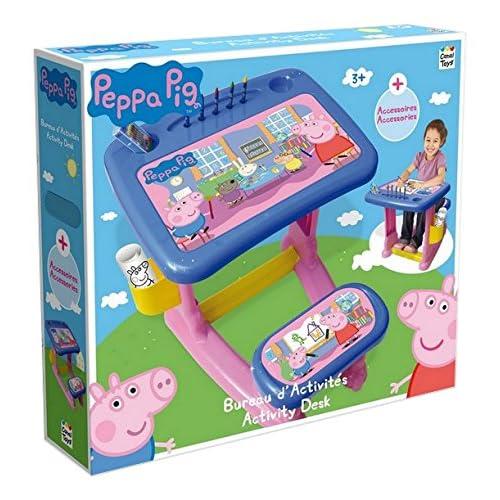 Canal Toys CT01000 - Loisir Créatif - Peppa Pig - Bureau d'Activités Enfant