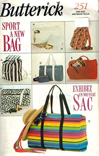 Butterick - Sport A New Bag- Sewing Pattern #251