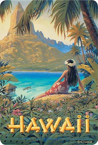 Hawaiian Vintage Postcards Pack of 30 , Hawaii , Isle of Paradise by Kerne  Erickson