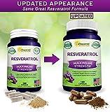 100% Natural Resveratrol - 1000mg Per Serving Max