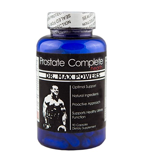 Dr. Max Powers Prostate Complete | Clinical Strength | Bladder Support | Made in the USA