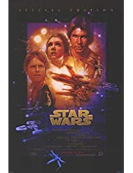 "Star Wars - Authentic Original 26.9"" x 39.75"" Movie Poster"