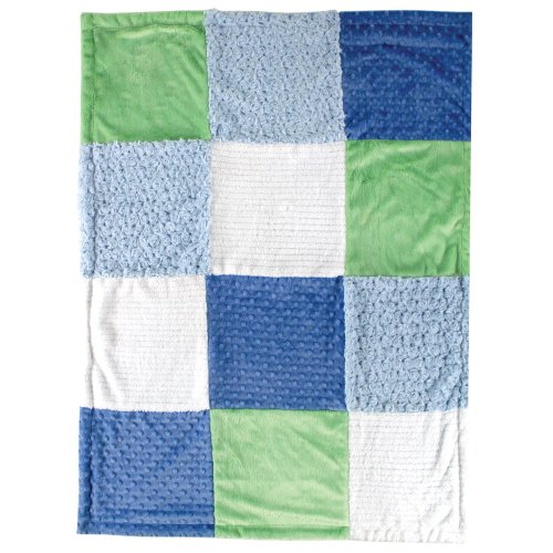 Hudson Baby Multi Fabric 12 Panel Blanket product image