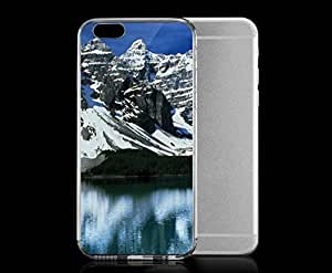Light weight with strong PC plastic case for iphone 4 4s Art Photography Landscapes Lake Moraine