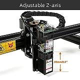 Reizer 20W Laser Engraver, Class 4 Fixed-Focus CNC