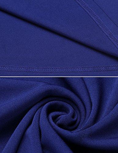 Acevog Bleu Femme Trapèze Robe Acevog Robe qwzXYq