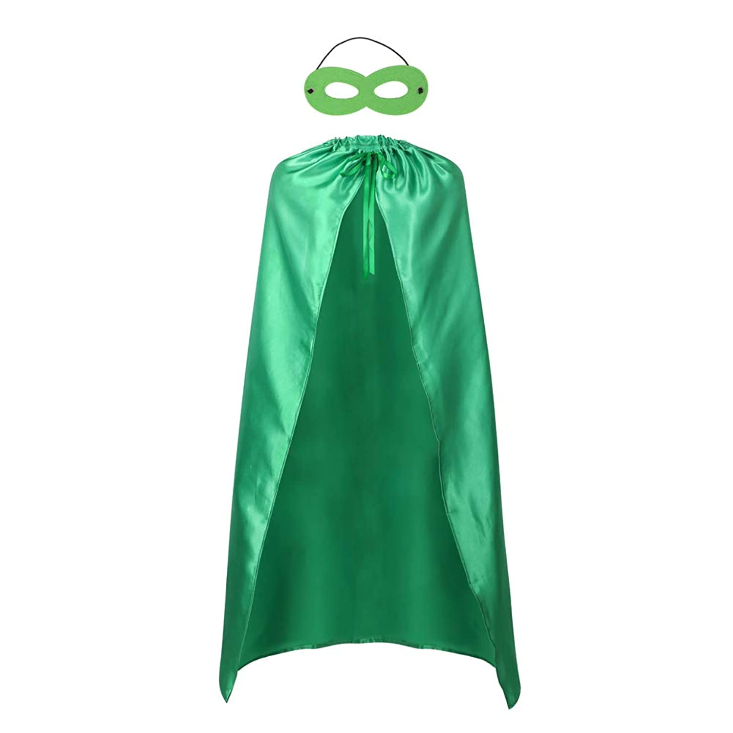 Adults Superhero Capes and Mask Set - Men & Women Cosplay Fancy Cloak-DIY Dress Up Halloween Costume