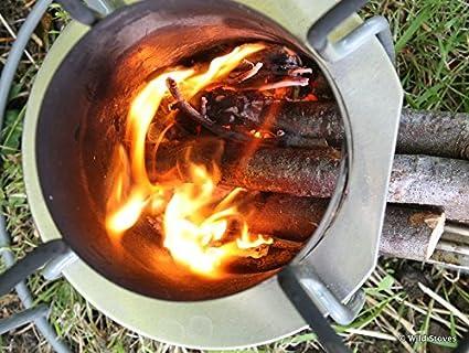 EzyStove - Hornillo de acampada (funciona con madera) Estufa ...