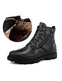 Men's Genuine Leather Working Shoes Martin Ankle Boots Combat Boot