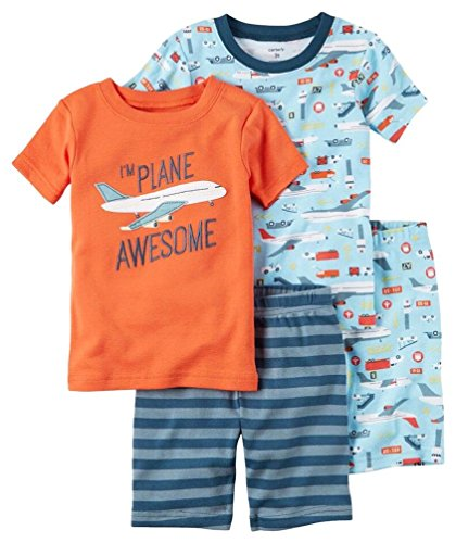 Carters Little 4 Piece Cotton Awesome