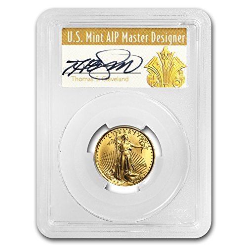 1994 1/4 oz Gold American Eagle MS-70 PCGS (Art Deco Label) (1/4) MS-70 PCGS