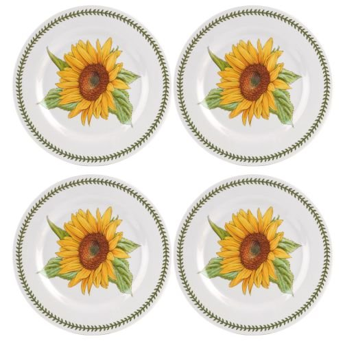 (Portmeirion 616035 Botanic Garden Set of 4 Melamine Dinner Plates, 11