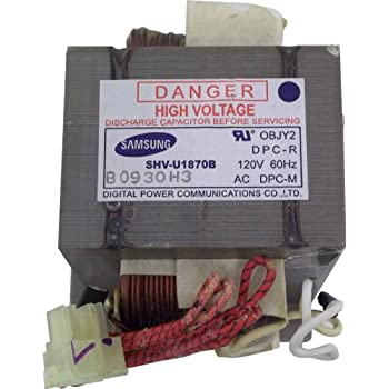 Amazon.com: GE WB27X10971 HV Transformer for Microwave