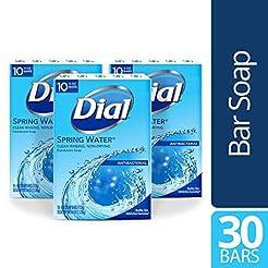 Dial Antibacterial Bar Soap, Spring Wate...