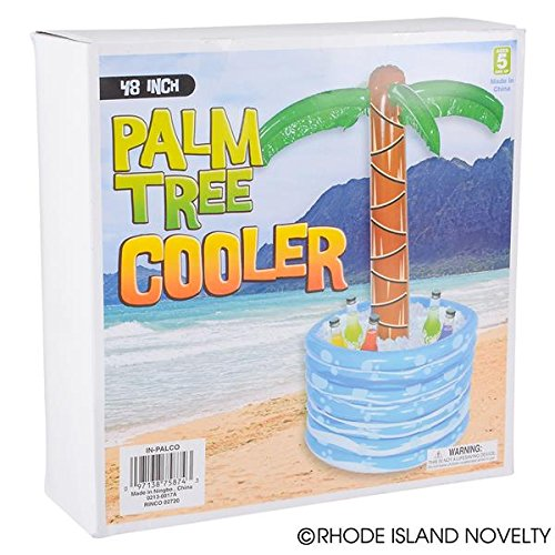 Fun Express Inflatable Palm Tree Beer/Soda Cooler -