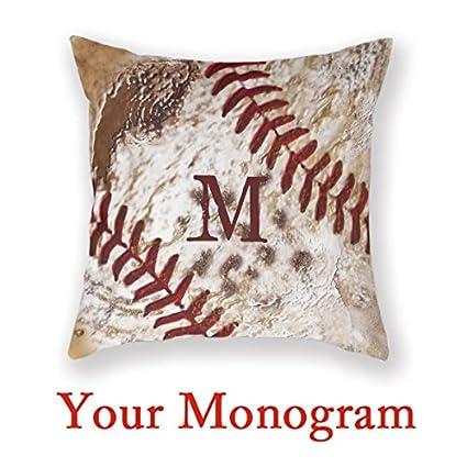 Amazon.com: Baseball Man Cave Monogrammed Baseball Home ...