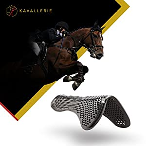 Kavallerie Dressage Horse Boots: Fleece-Lined Faux Leather Brushing Boots for Training, Jumping, Riding, Eventing - Breathable, Lightweight & Impact-Absorbing
